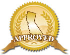 California Approved!